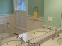 Vintage Look Bathroom Renovision