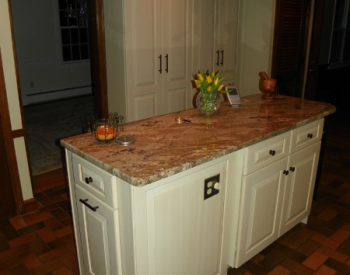Antique White Cabinet Refacing
