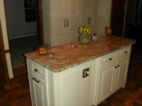 Antique White Cabinet Refacing