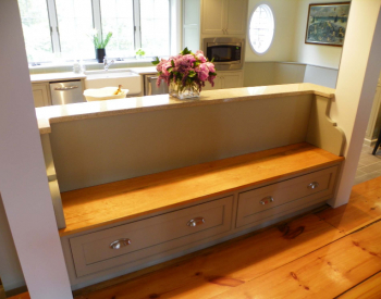 Kitchen Bench Seating Area