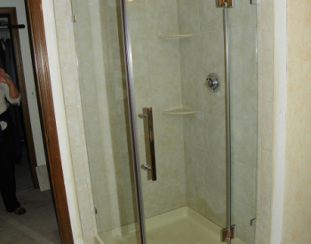 Outdated Fiberglass Shower